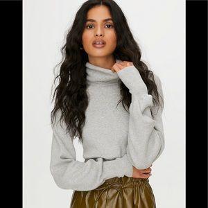 Aritzia Wilfred Rebecca Sweater Gray XS NWT